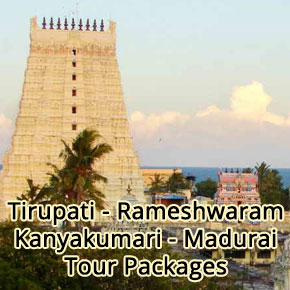tirupati rameshwaram kanyakumari madurai tour-packages